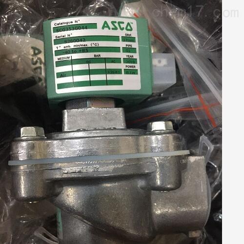 捷高ASCO两位两通电磁阀简要说明