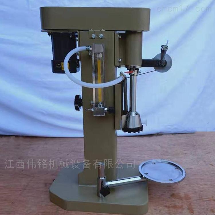 宁波矿工试验单槽浮选机实验室变频浮选设备