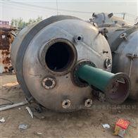 二手5吨电加热不锈钢内盘管反应釜 有手续