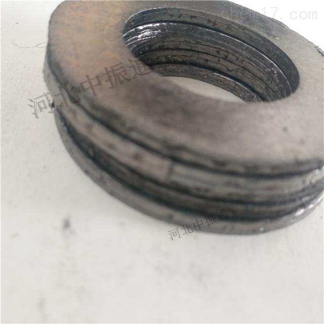 中振通石墨复合垫片应用于管道阀门等