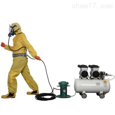 四人电动无油型压缩空气泵式送风长管手机