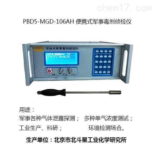 军用有毒气体快速检测仪