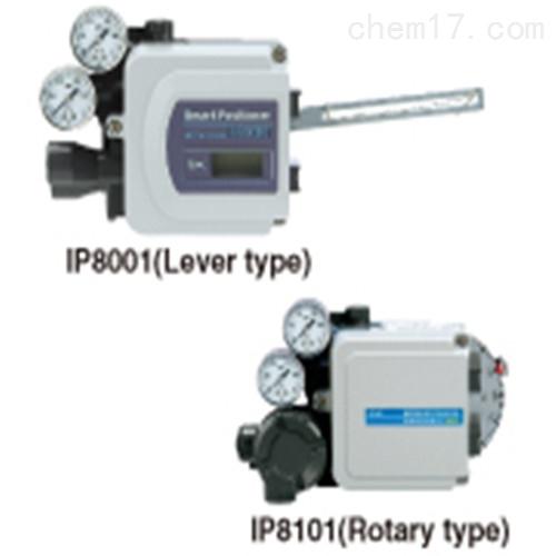 日本SMC电-气定位器IP8□00/IP8□01系列