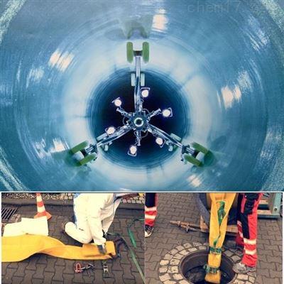 管道非開挖修複施工CIPP原位固化法