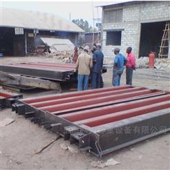 3.4x18米100吨出口电子汽车衡(分割式地磅)