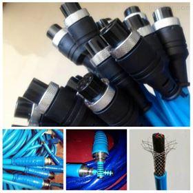 MHYBV-7-2七芯带插头拉力电缆