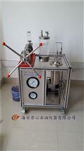 BH-1型岩心(油、水)抽空加压饱和实验装置