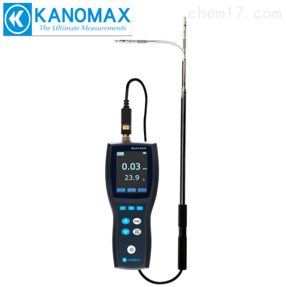 加野Kanomax热式风速仪风温风速计KA25