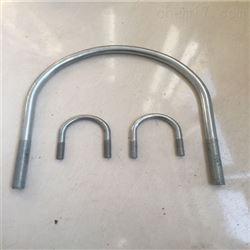 镀锌U型管卡橡塑管托