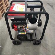 大流量抽水机15p柴油机动力6寸水泵养虾用