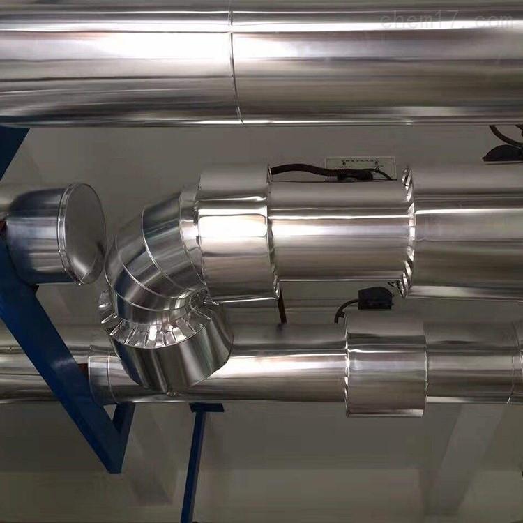 中球不易锈铝皮管道承接各省保温大包施工
