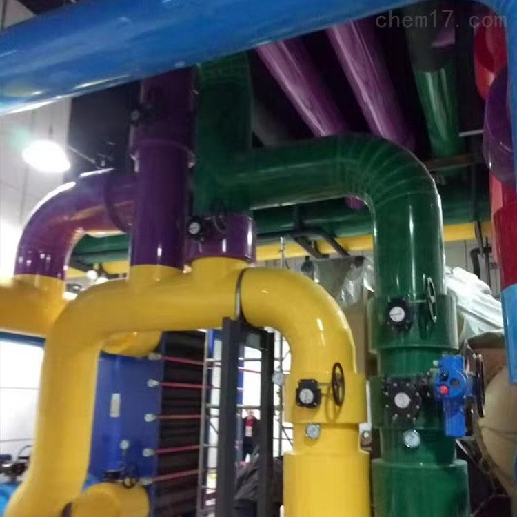 中球加厚型蒸汽管道保温承接施工