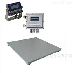DCS-KL-B1.2x1.5米2吨上下限报警地磅秤