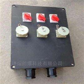 BXX8050供应2回路防爆防腐检修插座箱