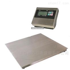 DCS-KL-2T1吨不锈钢电子地磅,食品厂用地磅秤