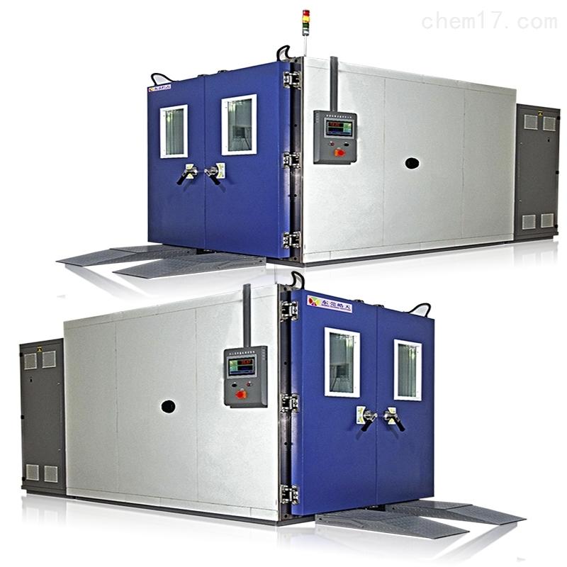 人机一体高低温步进式试验室