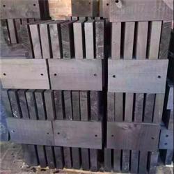管道垫层浸油木质管托供应商