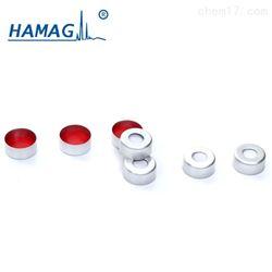 HM-1211预组装铝开孔盖,红色PTFE/白色硅胶垫 11mm