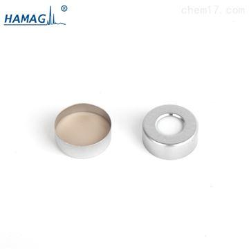 HM-4481银色开孔铝盖;米黄色PTFE/白色硅胶垫
