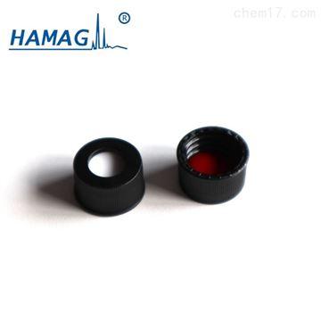 HM-4464预组装黑色螺纹开口盖(含PTFE/硅胶垫片)