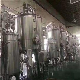 二手双效3吨浓缩蒸发器专业回收