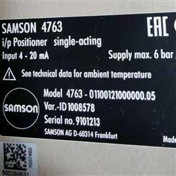 德国萨姆森原装SAMSON阀门定位器6109型号