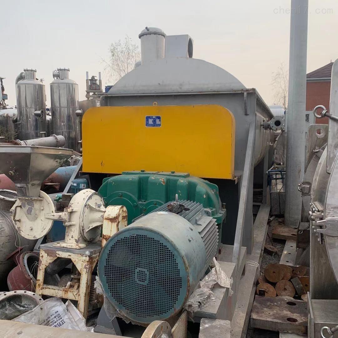 二手导热油 蒸汽全不锈钢桨叶干燥机