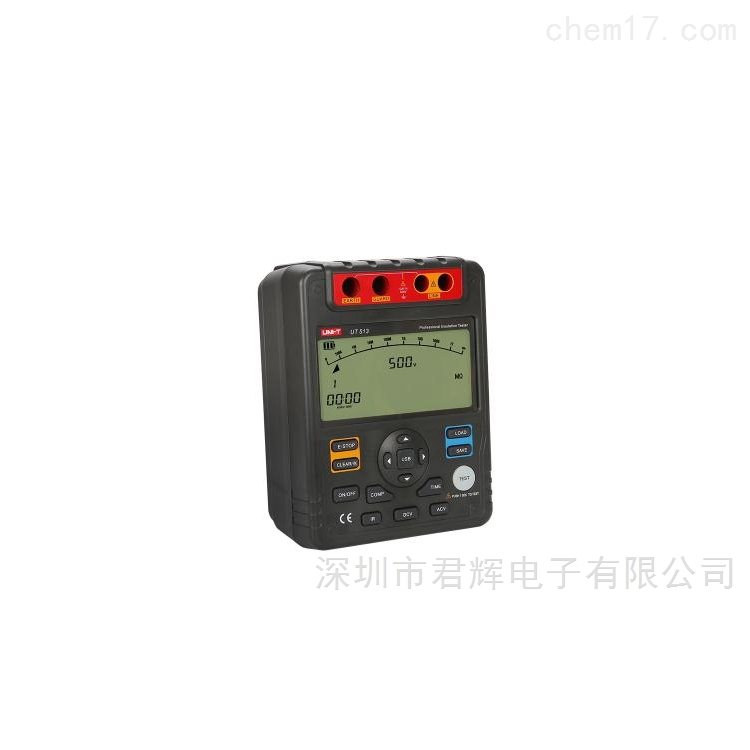 UT513绝缘电阻测试仪