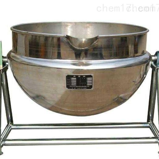 供应二手200升不锈钢夹层锅