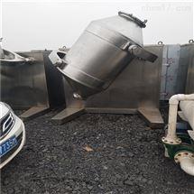 长期高价回收制药厂粉剂颗粒三维混合机