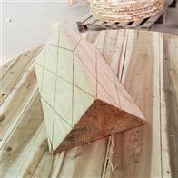 防止溜车三角垫木产品