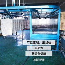 吊轨炉汽车塑胶件烘烤炉旋转吊轨线环保高温烤房