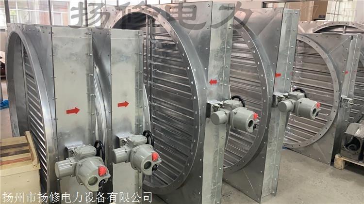 扬州电动不锈钢风量调节阀ROTORK