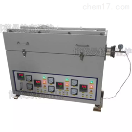 YB-GK-3三温区开启式高温管式电炉带管内测温