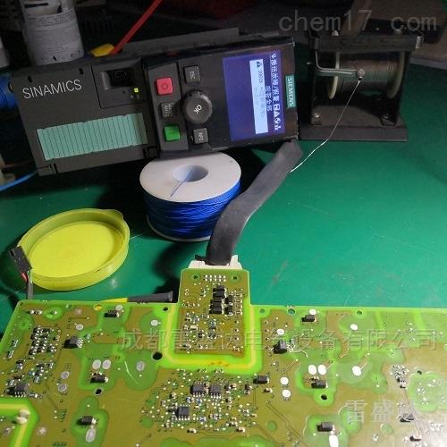 成都西门子变频器显示F007/F008维修