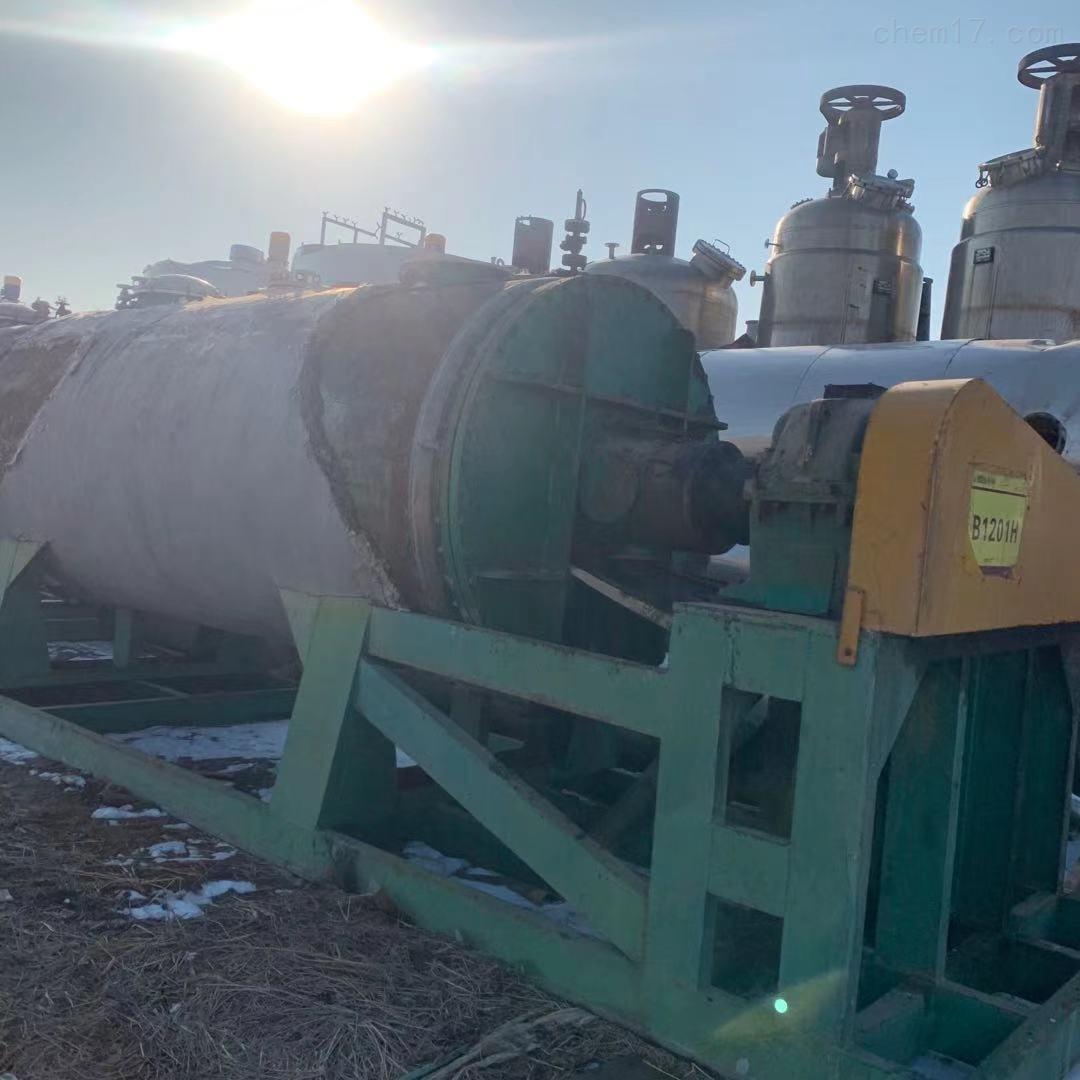 二手10吨不锈钢真空耙式干燥机
