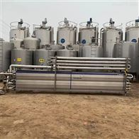 3T/H二手利乐饮料管式杀菌机 液体灭菌