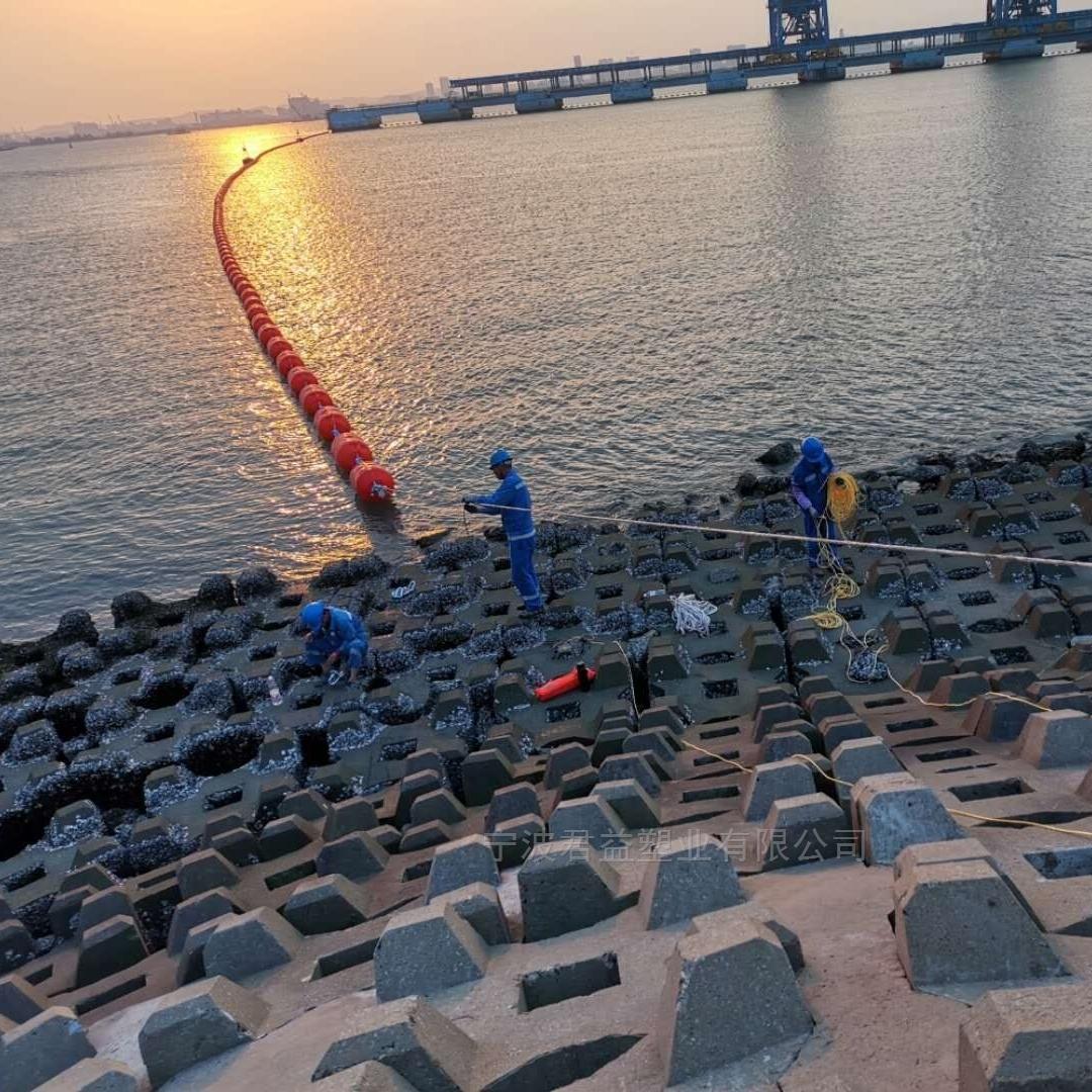 云南滚塑分体式聚乙烯拦污漂 生产厂家