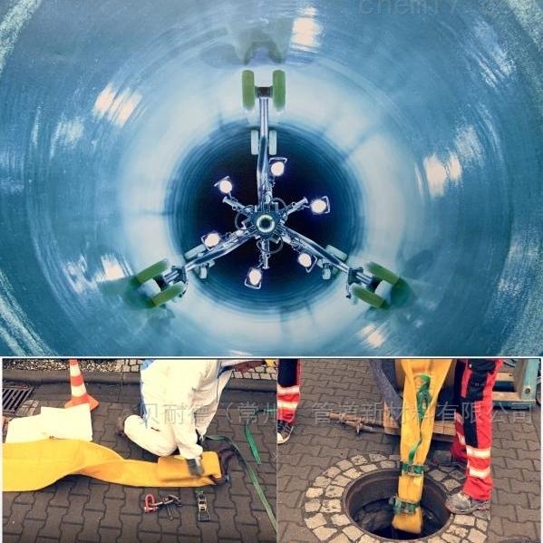 排水管道软管翻衬法CIPP非开挖修复