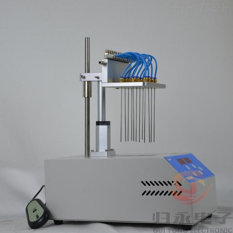 GY-GSDCY干热式定量浓缩氮吹仪12通道品牌