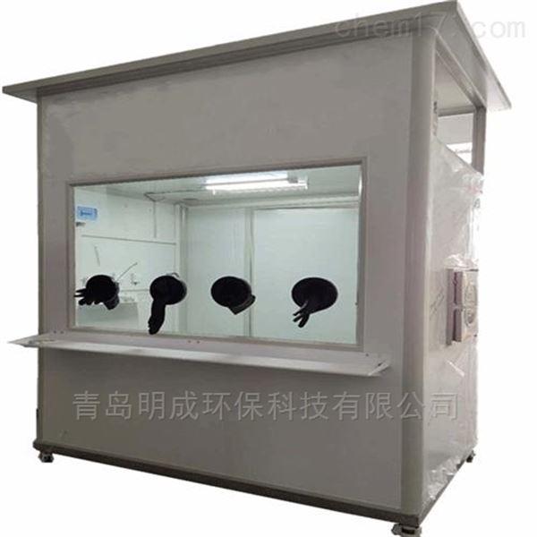 县卫生院用移动式核酸采样隔离箱厂家现货