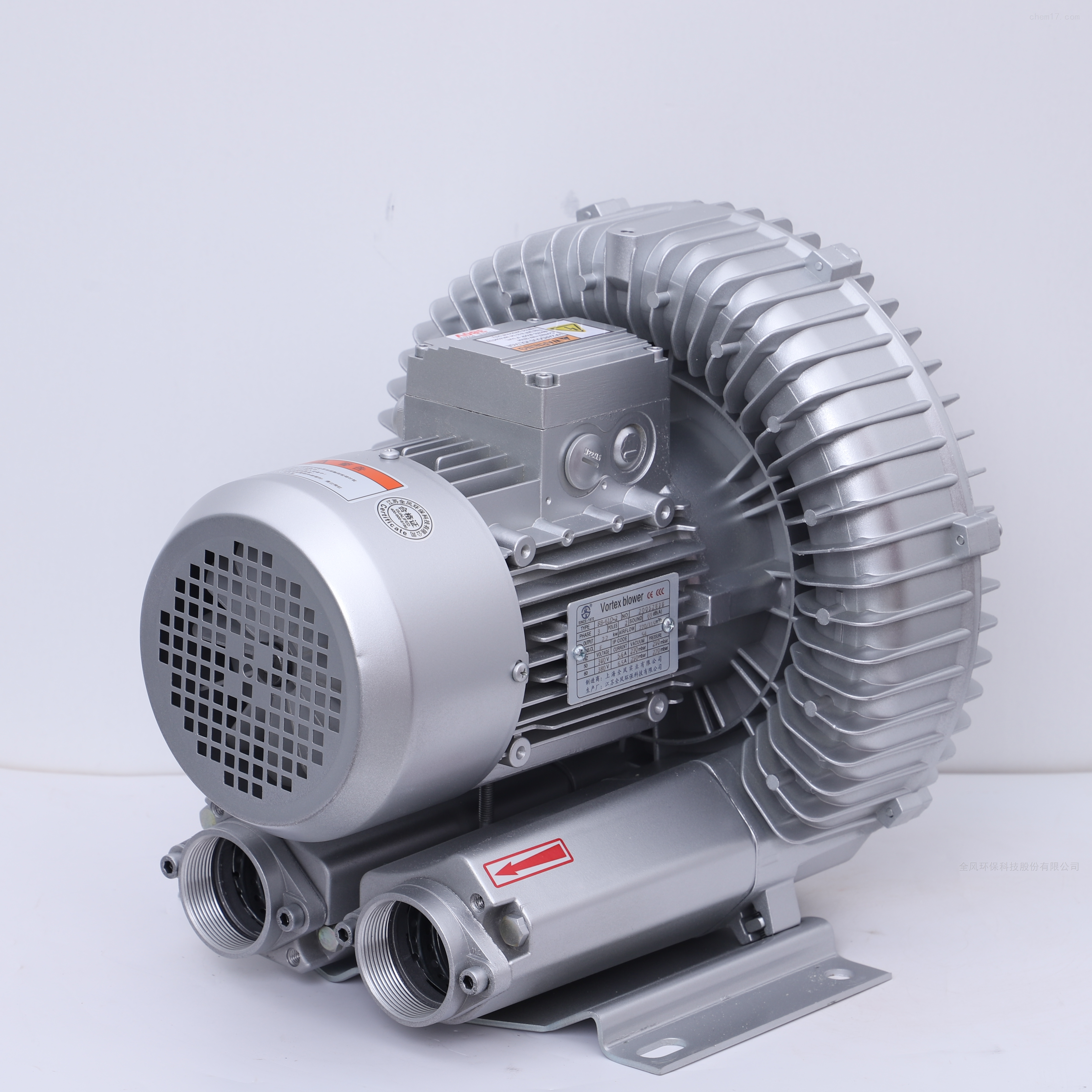 7.5KW高压漩涡鼓风机