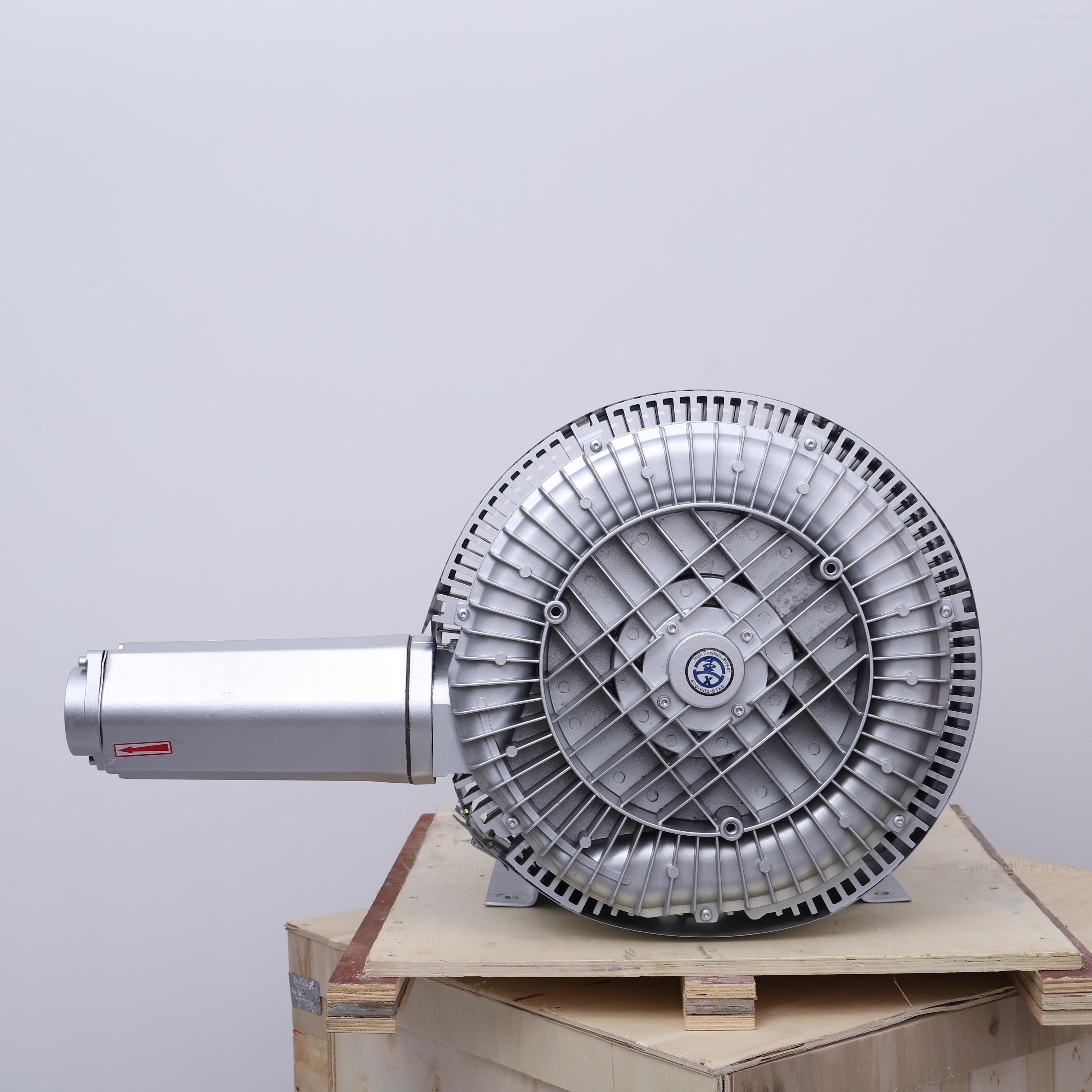 气体传送双叶轮旋涡气泵