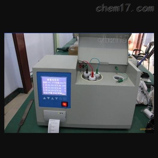 哈尔滨承装修试油介损及体积电阻率分析仪