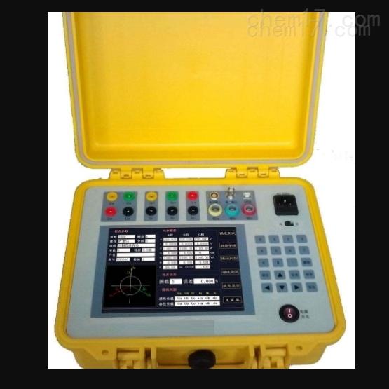 四川省承试电力设备智能三相电能质量分析仪