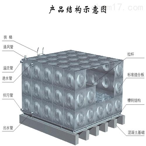 屋顶箱泵一体化水箱