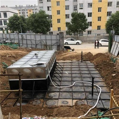 描述埋地式箱泵一体化泵站制作工艺