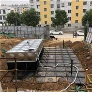 地埋水箱描述埋地式箱泵一体化泵站制作工艺