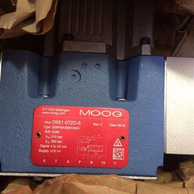 美国MOOG穆格伺服阀D661-4651现货