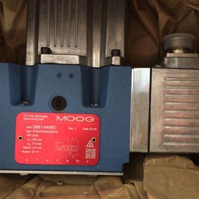 MOOG穆格伺服阀D663-4007库存